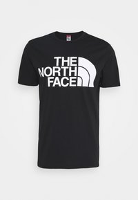 The North Face - STANDARD TEE - T-shirt imprimé - black - 0