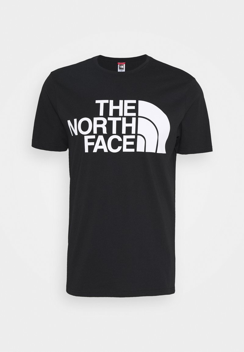 The North Face - STANDARD TEE - T-shirt imprimé - black