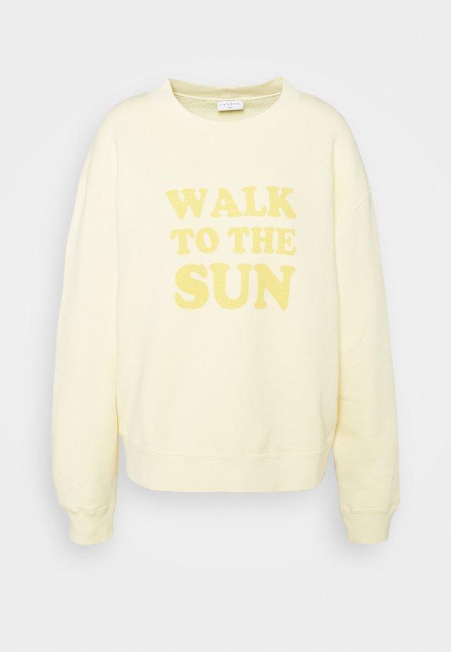 SUN - Sweater - jaune pâle
