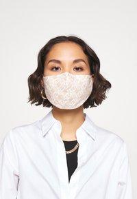 LIU JO - KIT MASCHERINA 2 PACK - Maschera in tessuto - cipria - 0