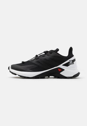 SUPERCROSS BLAST - Trail running shoes - black/white