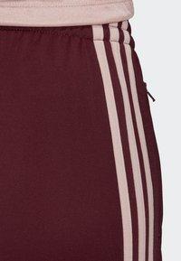 adidas Originals - FIREBIRD TRACKSUIT BOTTOMS - Tracksuit bottoms - burgundy - 3