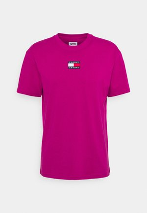 BADGE TEE  - T-shirt basic - autumn plum