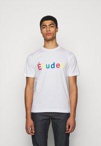 Études - UNISEX - T-shirt imprimé - white - 0