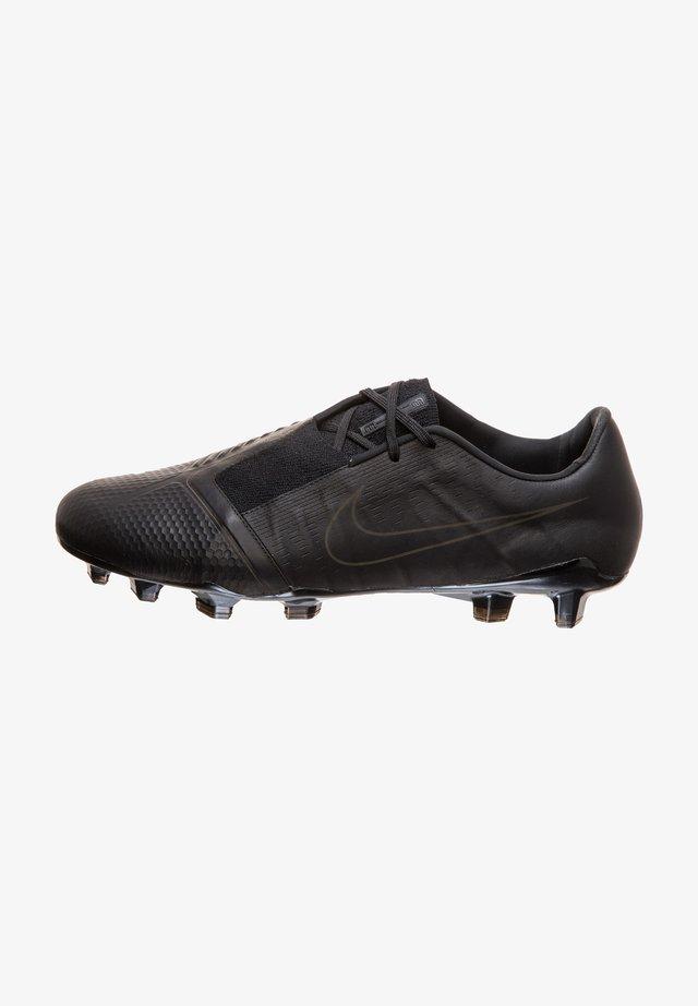 Voetbalschoenen met metalen noppen - black