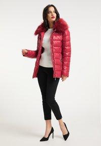 faina - Winter jacket - dunkelrot - 1