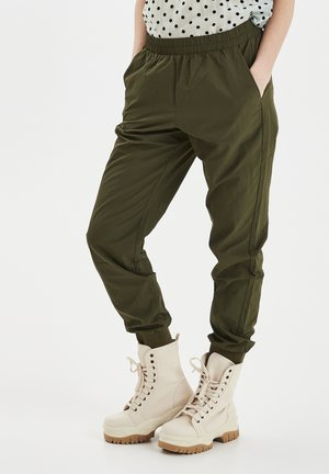 PXPHILLIPA - Tracksuit bottoms - olivine