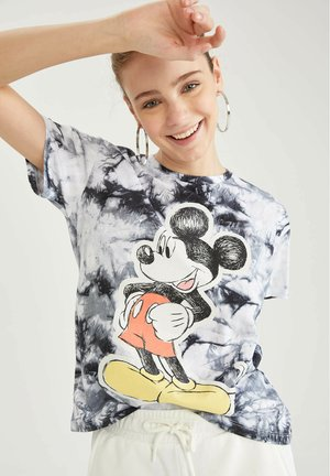 DISNEY - Camiseta estampada - black