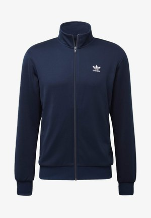 TREFOIL ESSENTIALS TRACK TOP - veste en sweat zippée - blue
