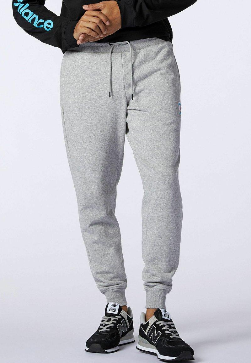 New Balance - Tracksuit bottoms - grey