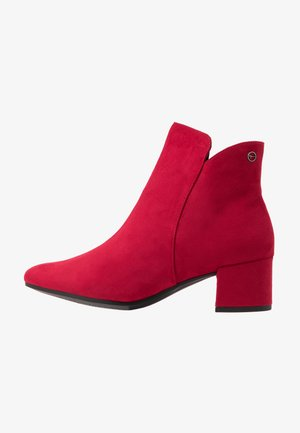 WOMS - Ankle boots - lipstick