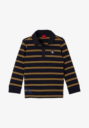 Polo shirt - dark blue stripes