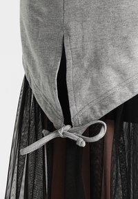 Urban Classics - LADIES TERRY  - Zip-up hoodie - grey - 6