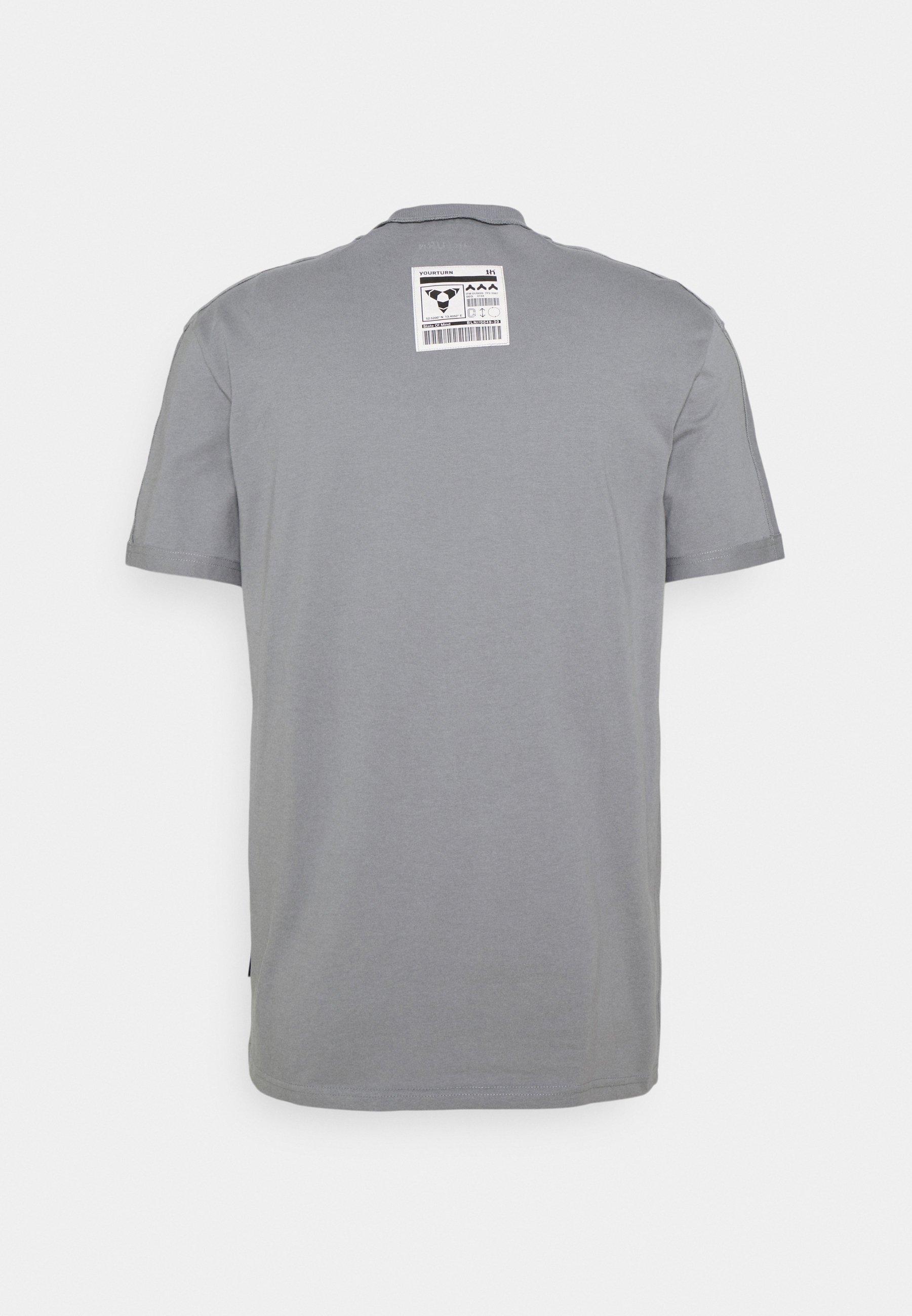 Damen INSIDE OUT COLLAR UNISEX - T-Shirt basic