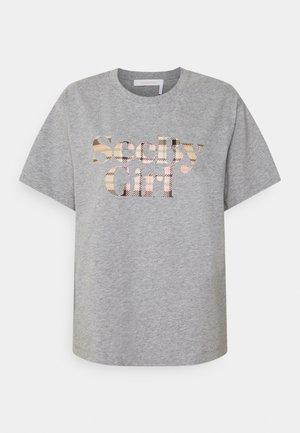 T-shirt imprimé - limestone grey