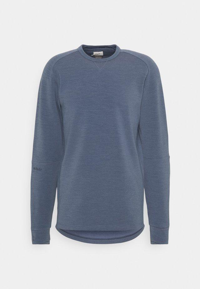 SKIBOTN CREW NECK  - Sweatshirt - vintage indigo