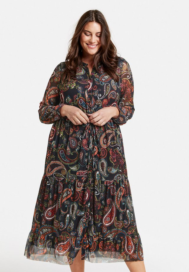 MIT PAISLEY-PRINT - Day dress - black gemustert