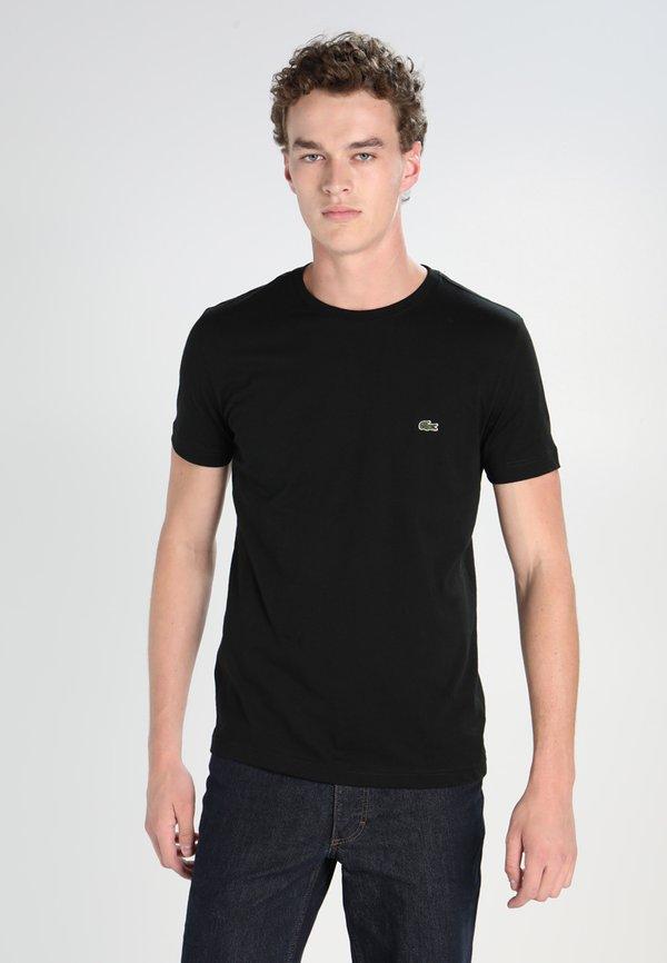 Lacoste T-shirt basic - black/czarny Odzież Męska MHYO