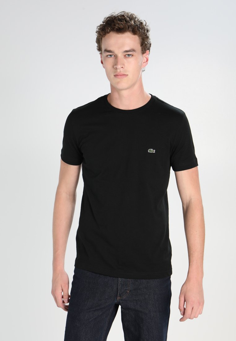 Lacoste - T-shirts basic - black