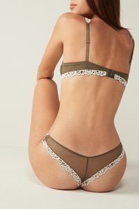 Intimissimi - PRETTY FLOWERS - Thong - olive - 3