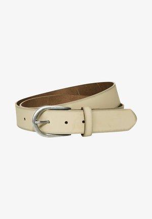 BASIC-ECHT - Belt - beige