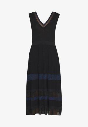 PRUA - Abito in maglia - black pattern