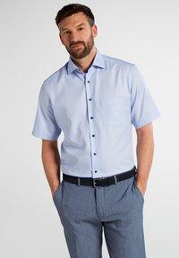 Eterna - MODERN FIT - Shirt - light blue - 0