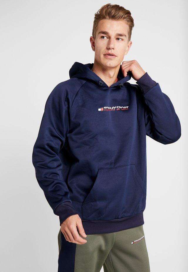 OVERSIZE HOOD - Bluza z kapturem - sport navy