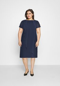 Swing Curve - Cocktail dress / Party dress - navy - 1
