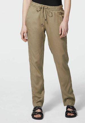 Trousers - kaki bleach