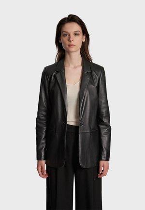 MEG - Leather jacket - black
