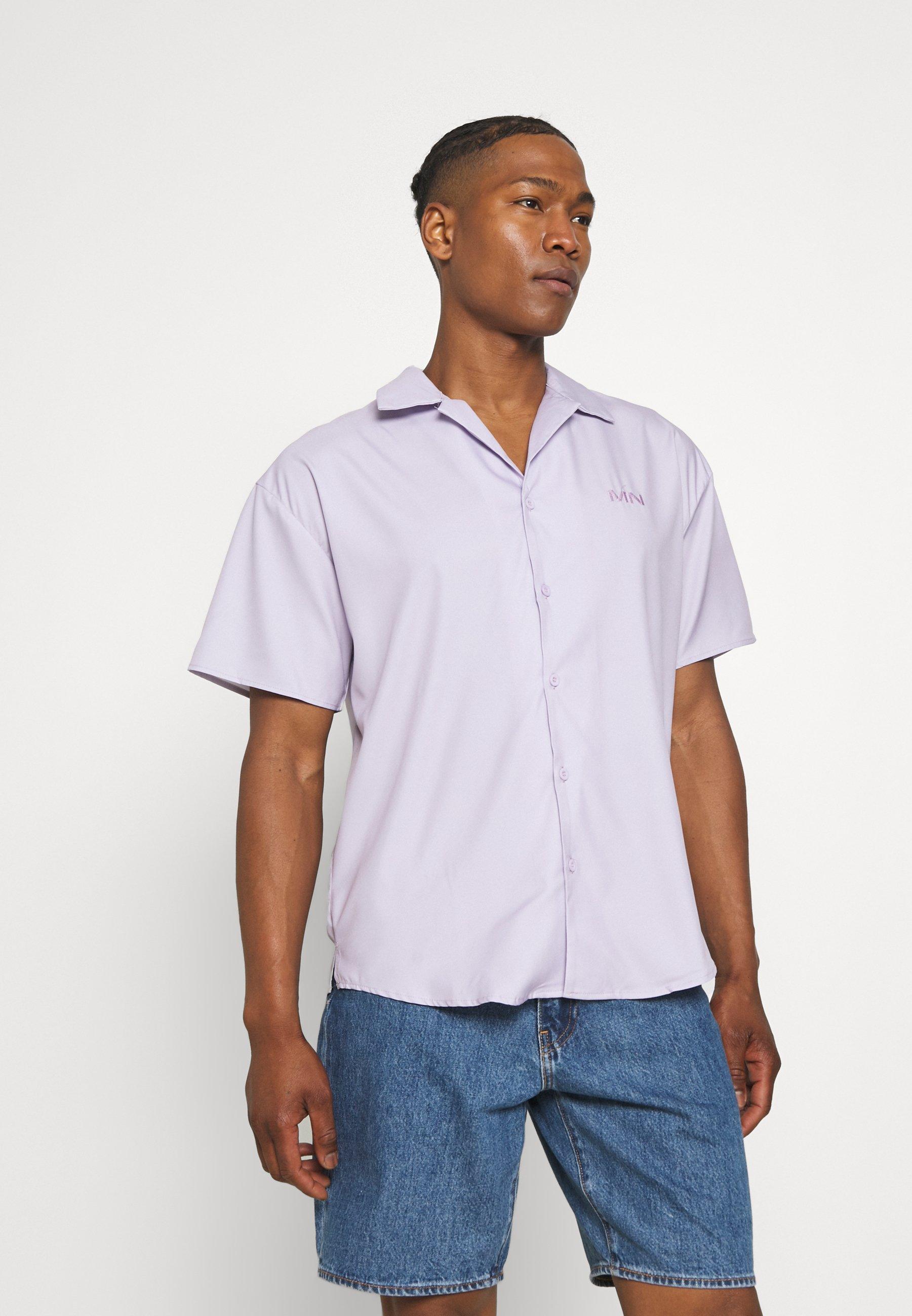 Men SATEEN REVERE SHIRT - Shirt