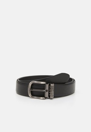 BELT LOGO KEEPER - Pásek - black