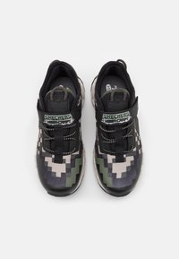 Skechers - MEGA-CRAFT - Trainers - black/olive/taupe - 3