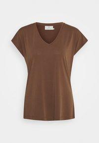 Kaffe - KALISE SS  - Basic T-shirt - brown - 0