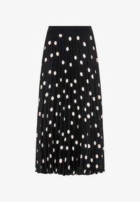 HALLHUBER - Pleated skirt - schwarz - 3