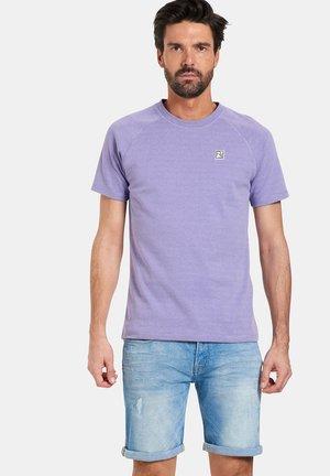 TIJN - T-shirt basic - purple