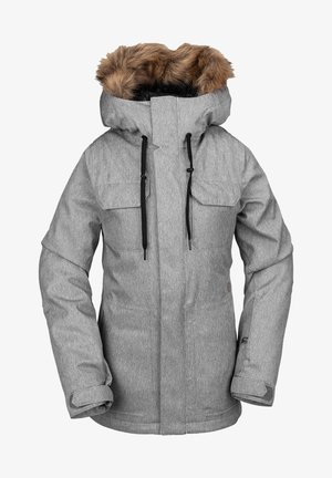 Chaqueta de snowboard - heather_grey