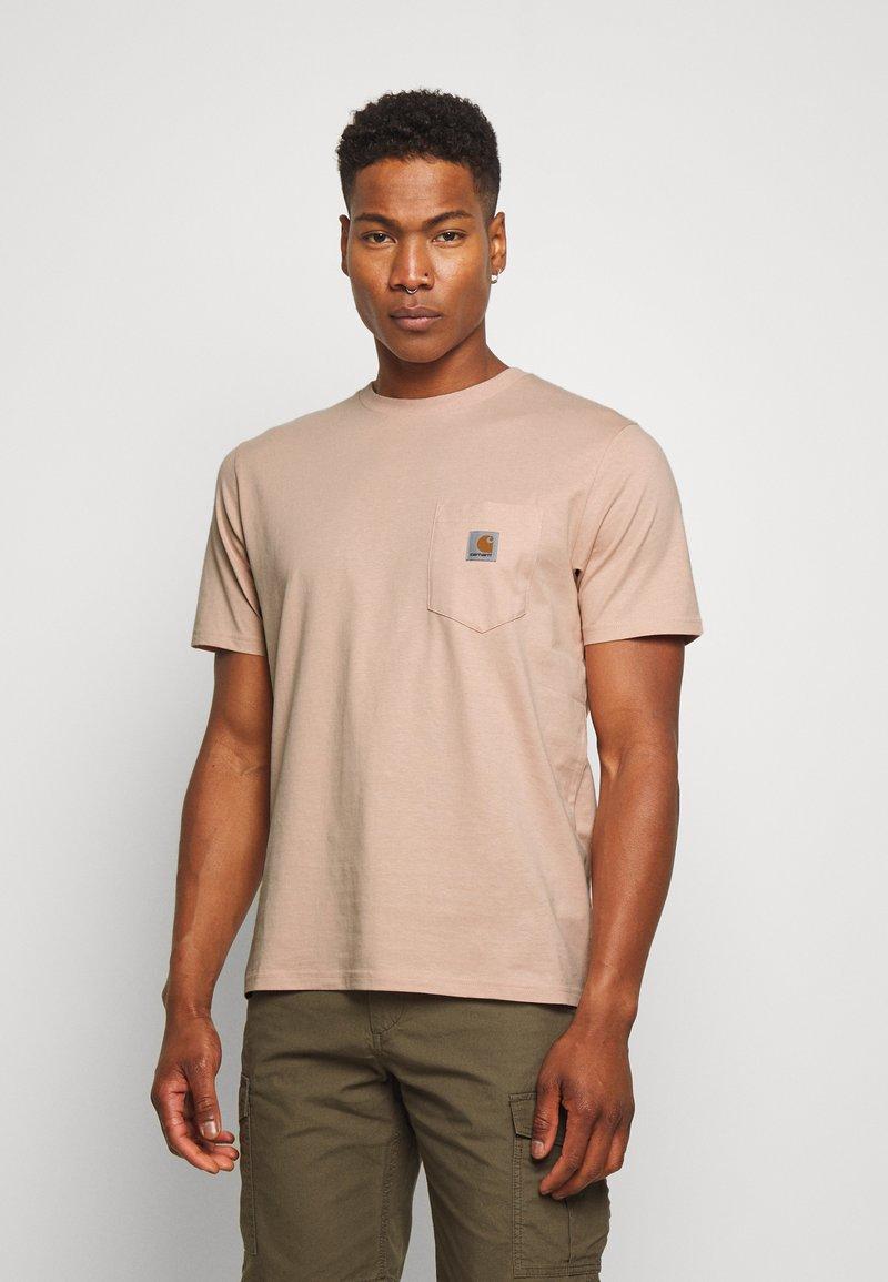 Carhartt WIP - Basic T-shirt - vegas pink