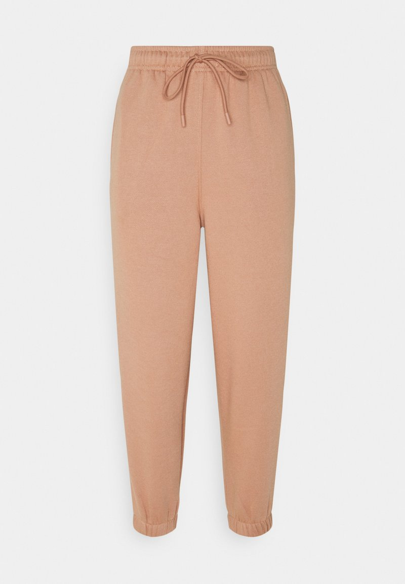 Topshop Petite - HARLEY - Tracksuit bottoms - rose
