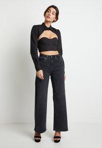 Pepe Jeans - DUA LIPA X PEPE JEANS - Straight leg jeans - grey denim - 1
