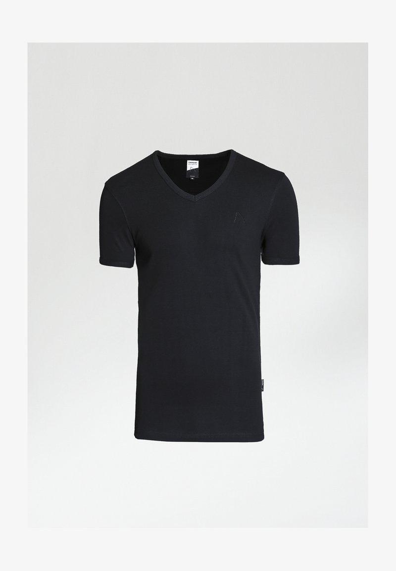 CHASIN' - Basic T-shirt - black