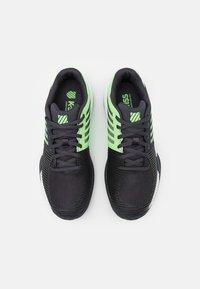 K-SWISS - EXPRESS LIGHT 2 - Clay court tennis shoes - blue graphite/soft neon green/white - 3