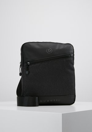 SMALL CROSSBODY BAG - Across body bag - black/grey