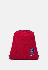 STADIUM - Drawstring sports bag - university red/deep royal blue/white