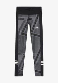 adidas Performance - Collant - grey six/black/white - 3