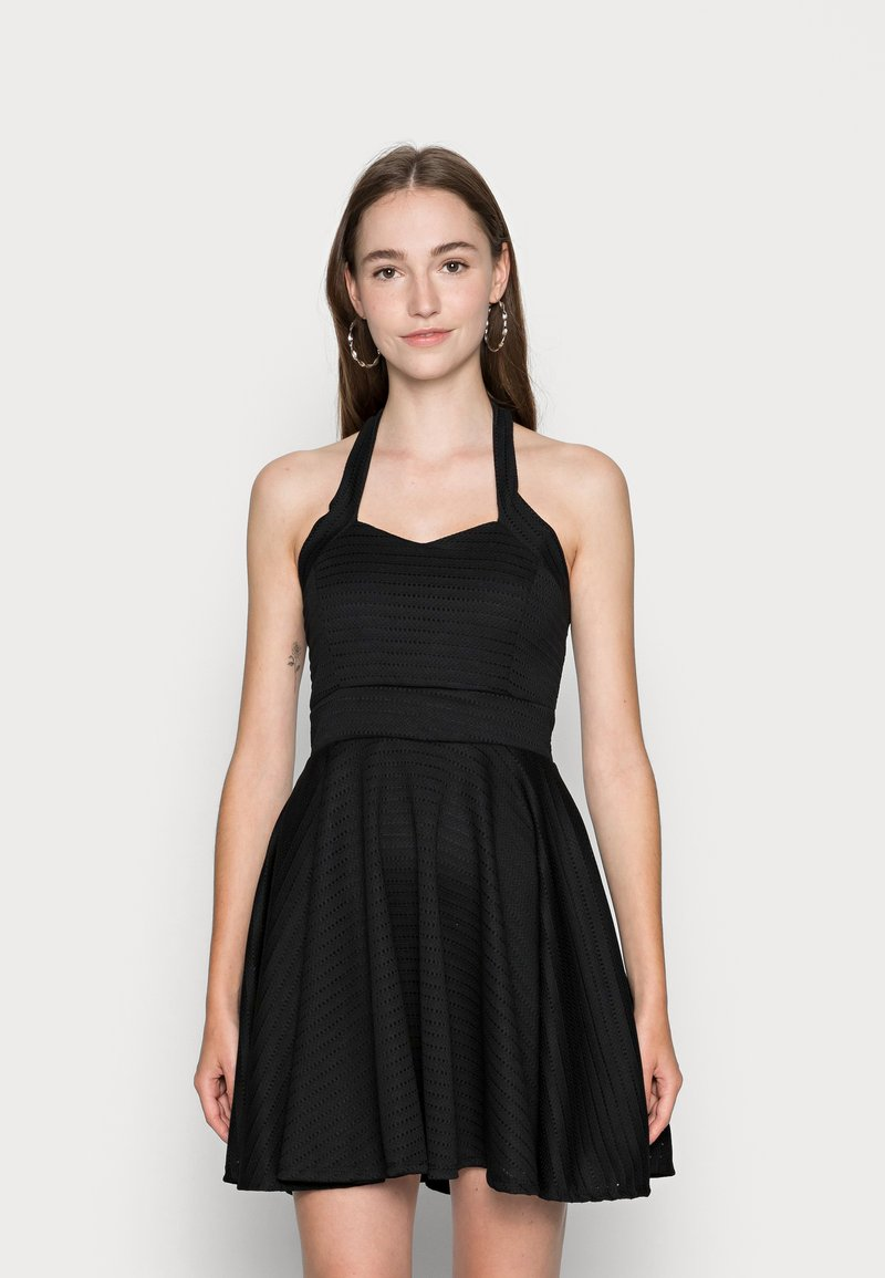 WAL G. - VIKKI SKATER DRESS - Koktejlové šaty/ šaty na párty - black