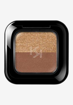 BRIGHT DUO EYESHADOW - Eye shadow - 5 deep gold/satin chocolate