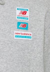 New Balance - ESSENTIALS FIELD DAY HOODIE - Sweatshirt - athletic grey - 2