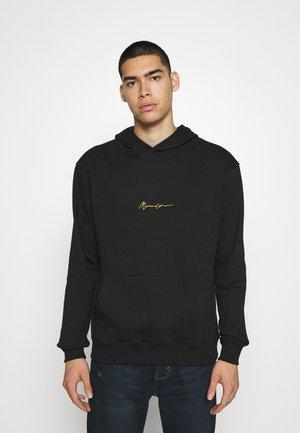 ESSENTIAL REGULAR OVERHEAD HOODY  UNISEX - Sweatshirt - black
